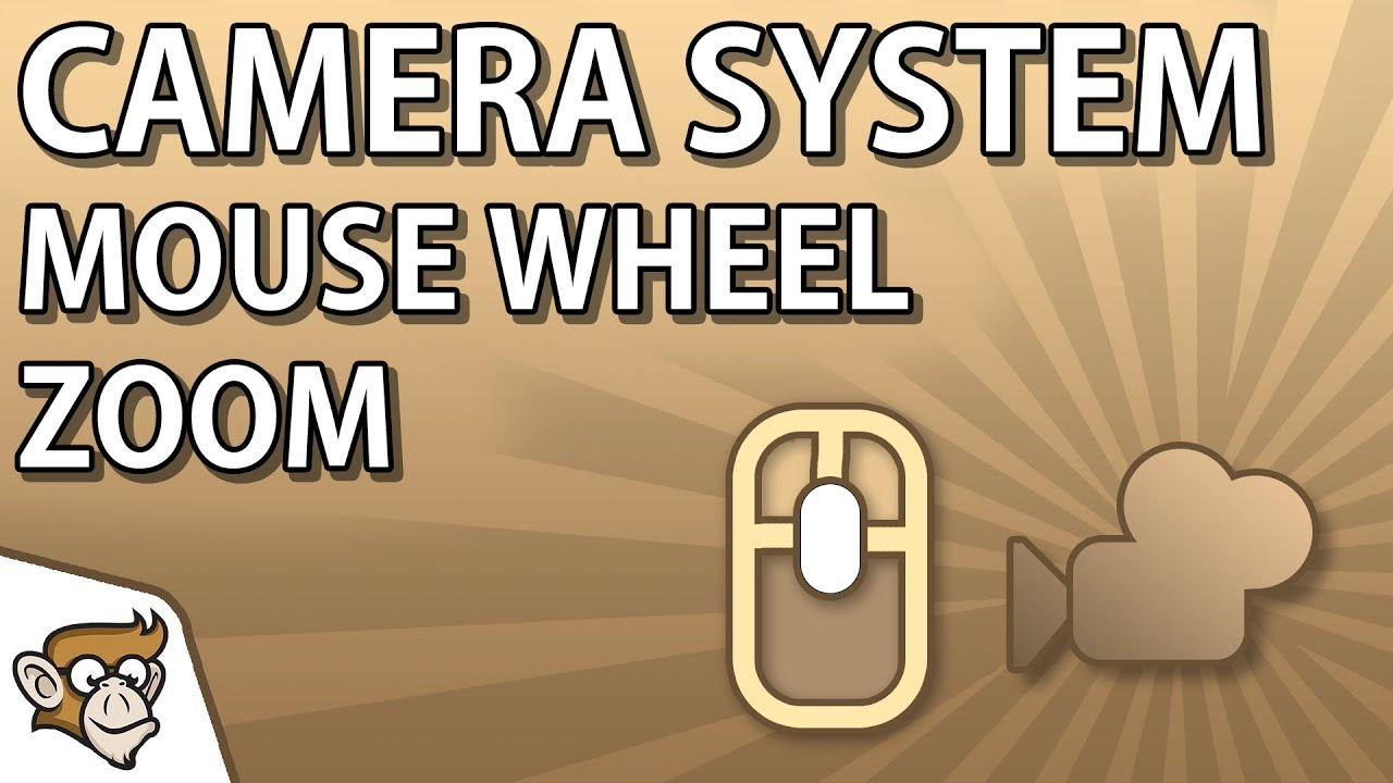 Camera System - Mouse Wheel Zoom | Unity Tutorial