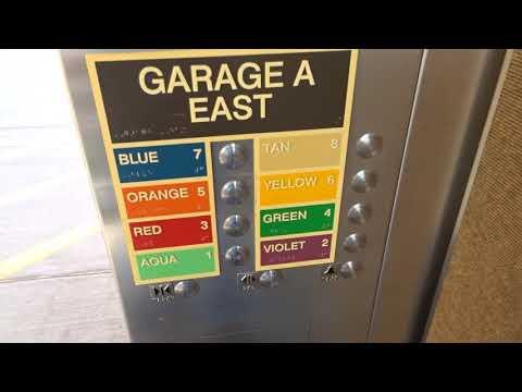 Kone Scenic Elevators East Economy Parking Garage A Phoenix Sky Harbor Airport Phoenix, AZ