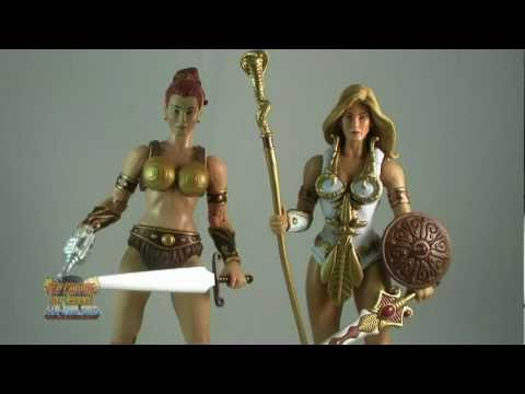 Masters of the Universe Classics Battleground Teela Review ...