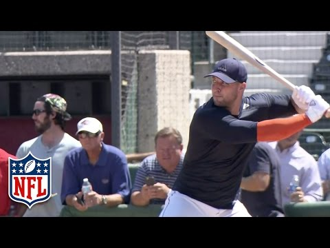 Tim Tebow MLB Tryout Highlights | NFL
