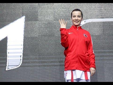 Serap Özçelik (TUR) - Bettina Plank (AUT) - Final - Kumite 50kg - Euro Karate 2018 - Sırbistan