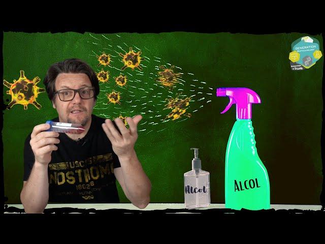 Perché l'alcol uccide il Coronavirus//spiegato facile