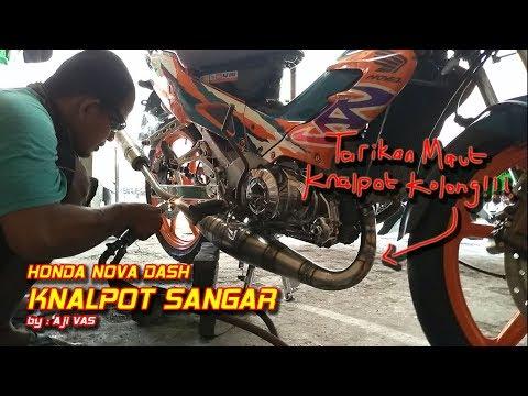 Knalpot Racing Kolong Honda Nova Dash    Aji VAS