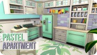 Sims 4 Speed Build   Pastel Parenthood Apartment 💕