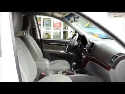 15495A Hyundai Santa Fe GL 4Dr Aut White Bathurst Honda Certified 2010