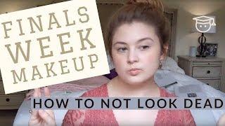 FINALS WEEK MAKEUP TUTORIAL | how to not look dead 💀