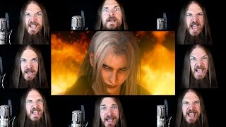 Repeat youtube video Final Fantasy VII - One Winged Angel Acapella