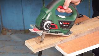 bosch easycut 12 li cordless saw unboxing and test. Black Bedroom Furniture Sets. Home Design Ideas