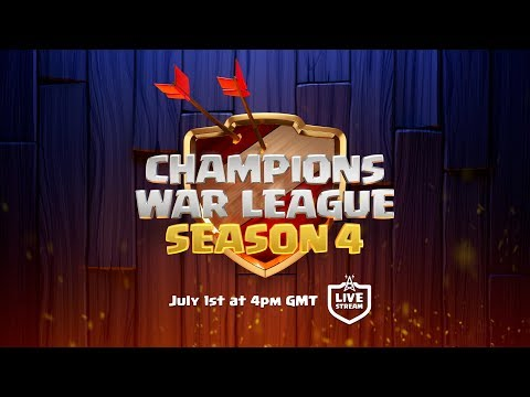 LIVE - Clash of Clans Champions War League Season 4 Finals!