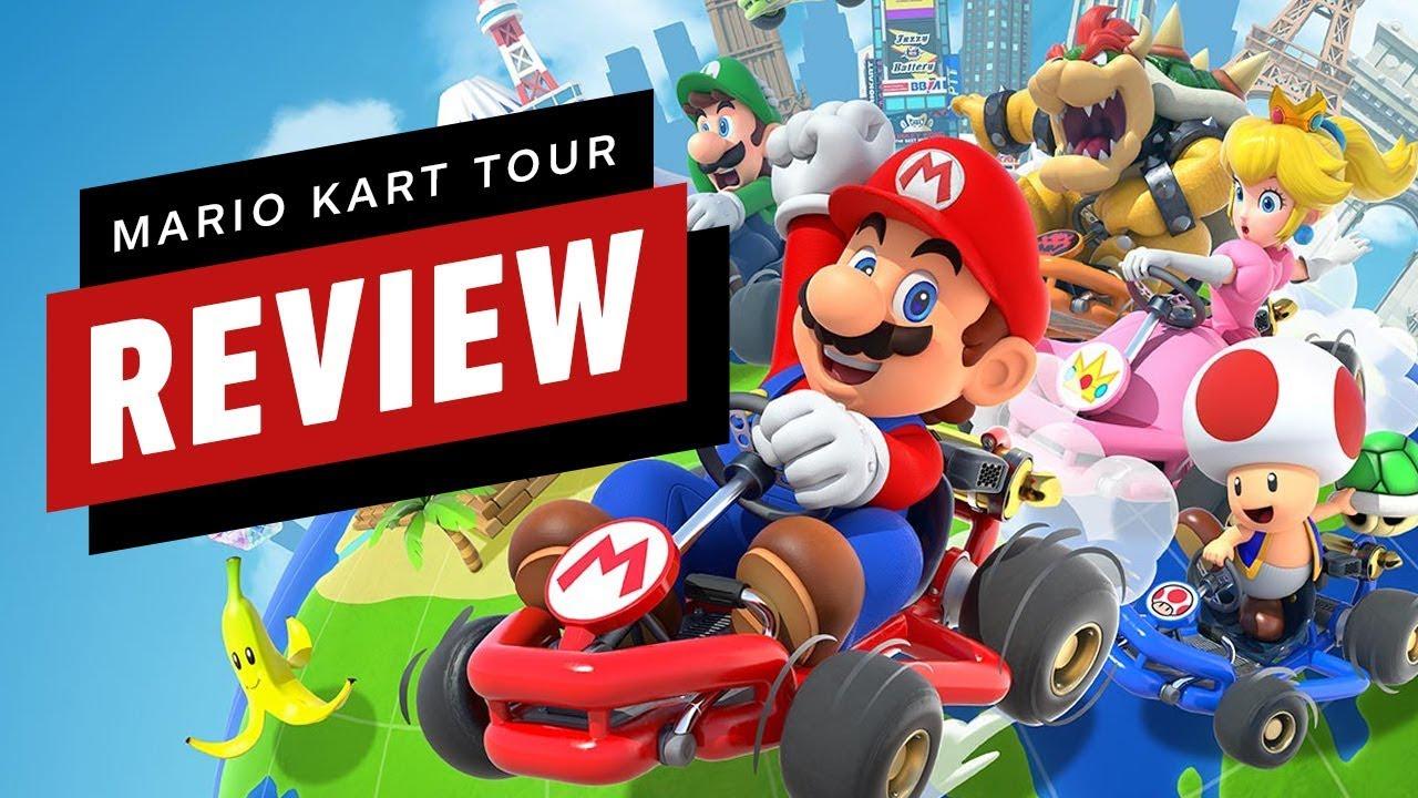 Mario Kart Tour Video Review