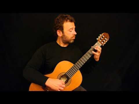 J. S. Bach Prelude in d-minor / Guitar