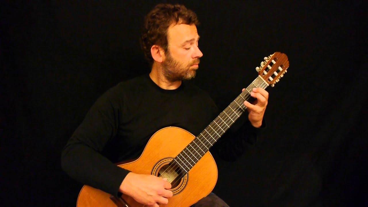 J  S  Bach Prelude in d-minor / Guitar