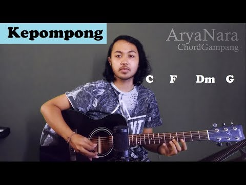 Chord Gampang (Kepompong - Sindentosca) By Arya Nara (Tutorial Gitar) Untuk Pemula