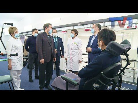В Караганде открыли ещё один филиал нейрореабилитационного центра «Луч».