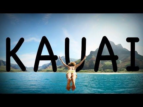 The Most FUN Kauai video you