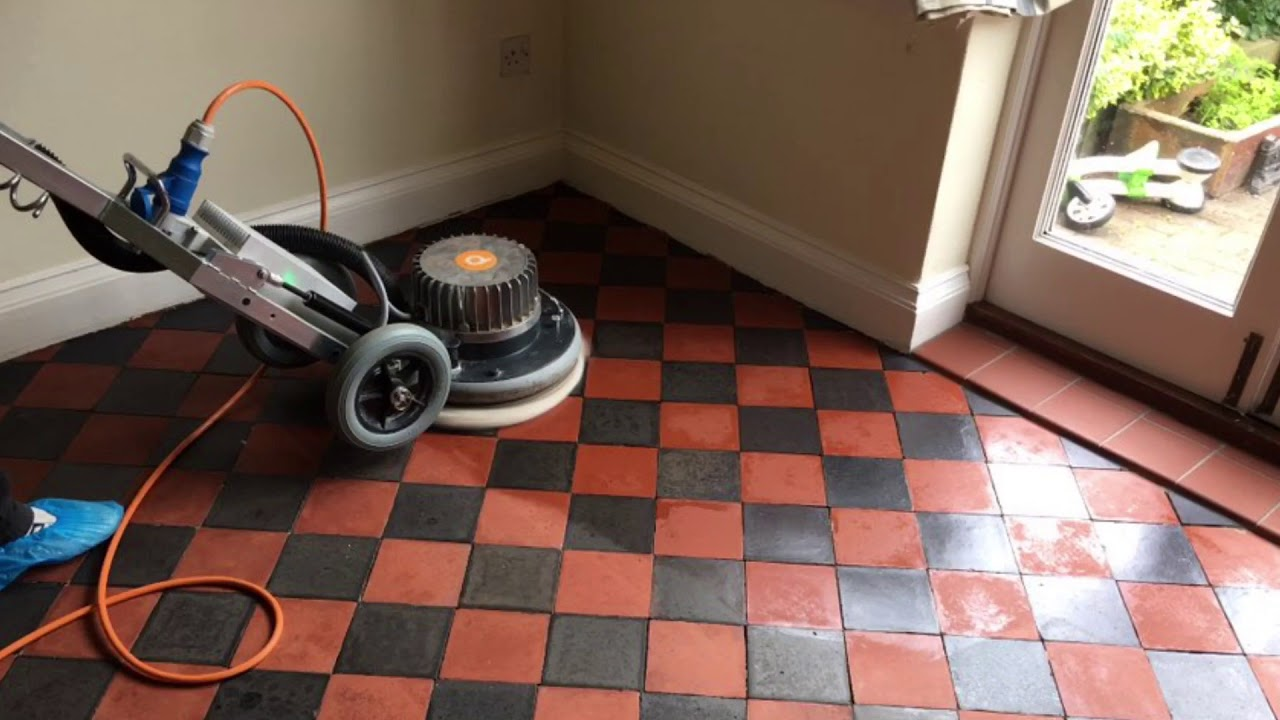 Cleaning Victorian Quarry Tiles In Hull Youtube