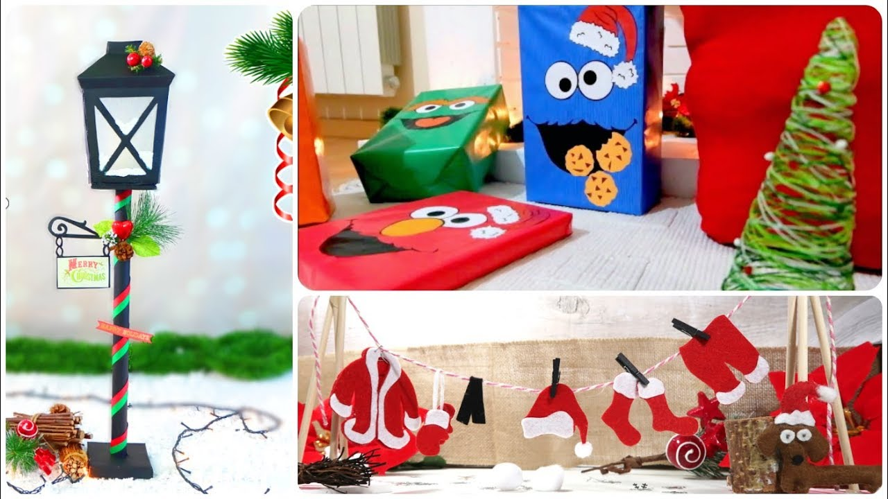 Ideas Para Regalar Navidad Manualidades.7 Manualidades Faciles Para Navidad Ideas Diy Para Decorar Y Regalar En Navidades