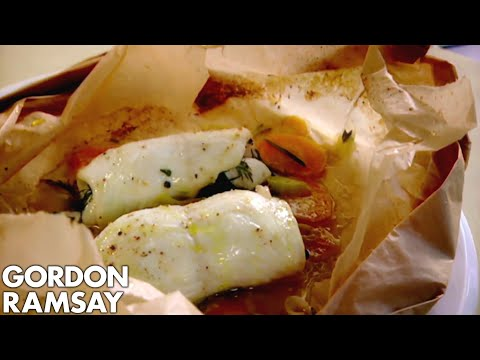 Lemon Sole En Papillote | Gordon Ramsay