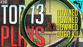 COLLATERAL - WARZONE TOP 13 PLAYS (WBCW #346)