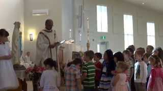 First Mass at St. James, Abbotsford