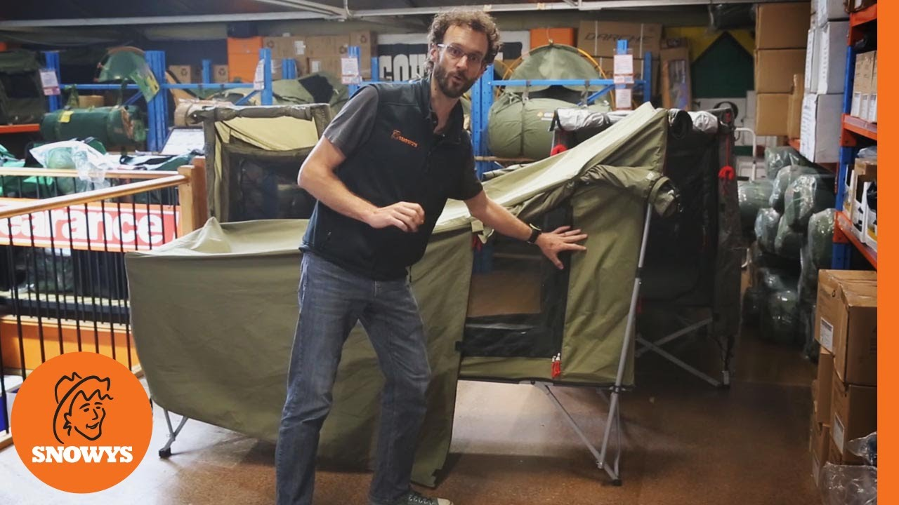 Comparing Oztrail and Oztent Stretcher Tents  sc 1 st  YouTube & Comparing Oztrail and Oztent Stretcher Tents - YouTube