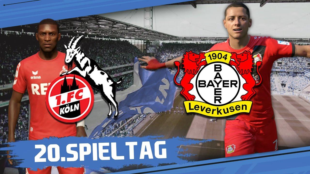 1.FC KÖLN – BAYER 04 LEVERKUSEN I 20.Spieltag I Freitagsspiel