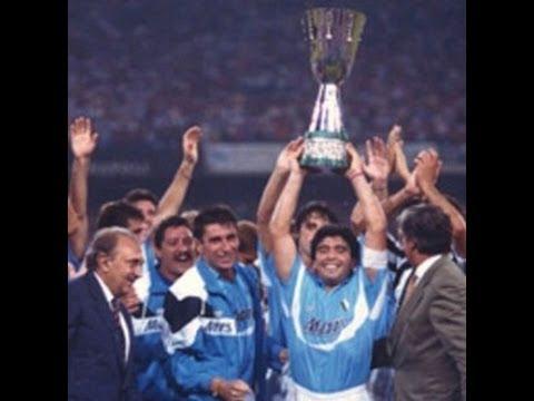 Napoli-Juventus 5-1 SuperCoppa 1990 - YouTube