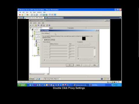 Setting Up A Proxy In Windows Server 2003 Mp4