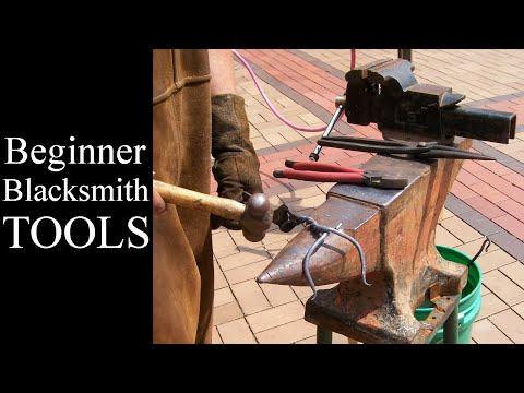 How To Begin Blacksmithing // Beginner Blacksmithing Tools Needed