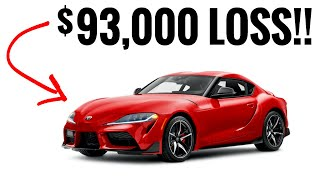 9 Sports Cars That Depreciate Like A Stock Market Crash!!