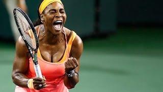 Serena Williams vs Monica Niculescu Highlights | Indian Wells 2015