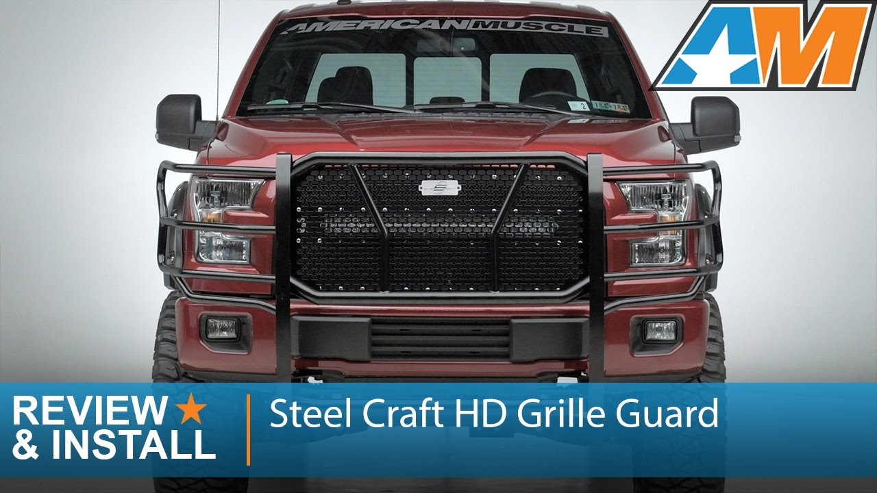 2015 2016 F 150 Steel Craft Hd Grille Guard Review Install