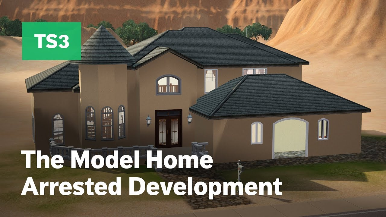 Building The Model Home From Arrested Development In The Sims 3 Youtube