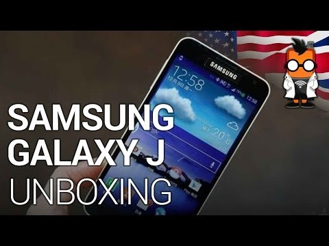 Samsung Galaxy J Unboxing & Comparison
