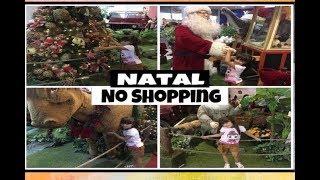 Um Dia de natal no Shopping - Passeio no shopping no natal - CHRISTMAS TOYS DECORATION