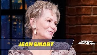 Jean Smart Was Shocked by Watchmen's Giant Blue Phallic Prop