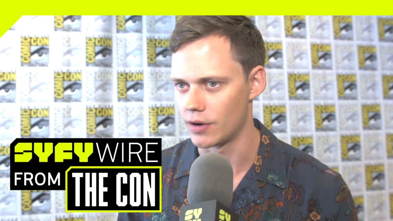 Bill Skarsgard & Castle Rock Cast On The Stephen King Universe & Their  Fears   SDCC 2018   SYFY WIRE