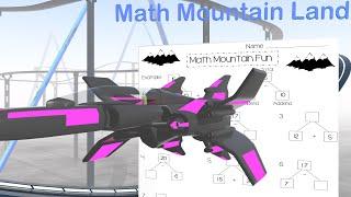 Math Mountain Worksheet - Educational Math Videos for Kids