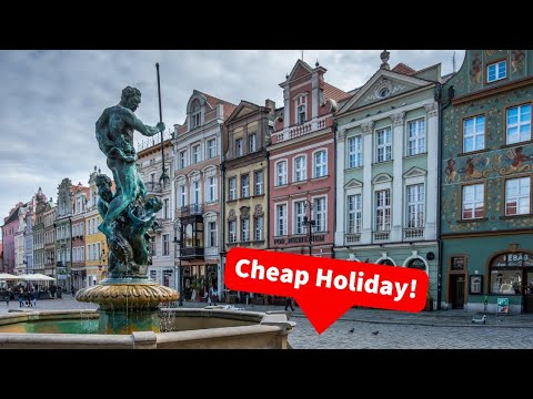 How To Find A Cheap Holiday |  Poznan Travel Photography Vlog