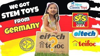 Stem Toys From Germany! Thank You Eitech, Teifoc, Ses Creative And New Classic Toys!