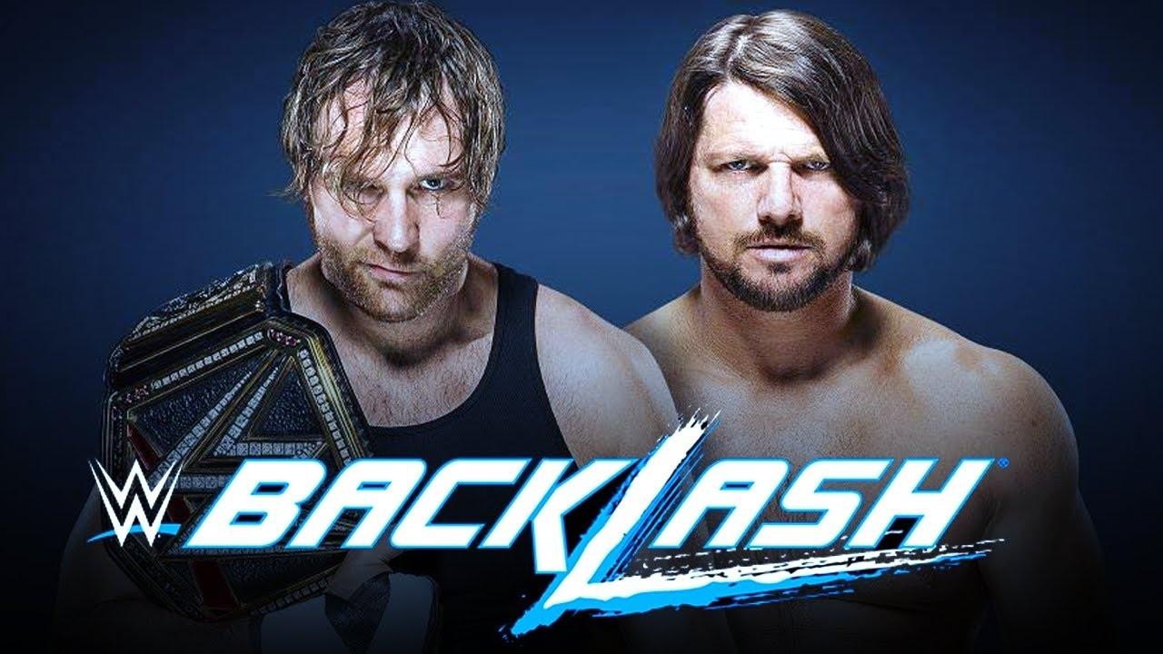 Download WWE BackLash — FULL MATCH — AJ Styles VS  Dean Ambrose