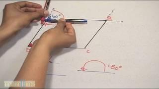 Encontrar ángulos interiores de un paralelogramo - HD
