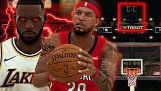 NBA 2K20 MyCAREER: Playoffs R2G5 - LeBron Is A BEAST! ELIMINATION GAME! [ EP.20 ]