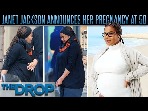 Janet Jackson, 50, Shows Off Baby Bump – The Drop Presented by ADD