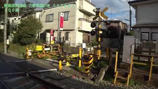 【車窓】東急世田谷線 300系 下高井戸-三軒茶屋