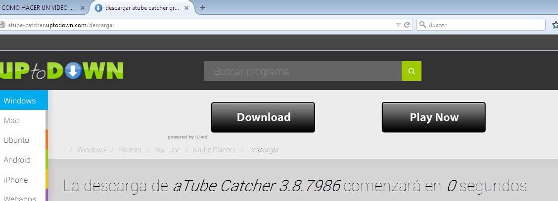 COMO DESCARGAR.ATUBE CATCHER FACIL Y RAPIDO - YouTube