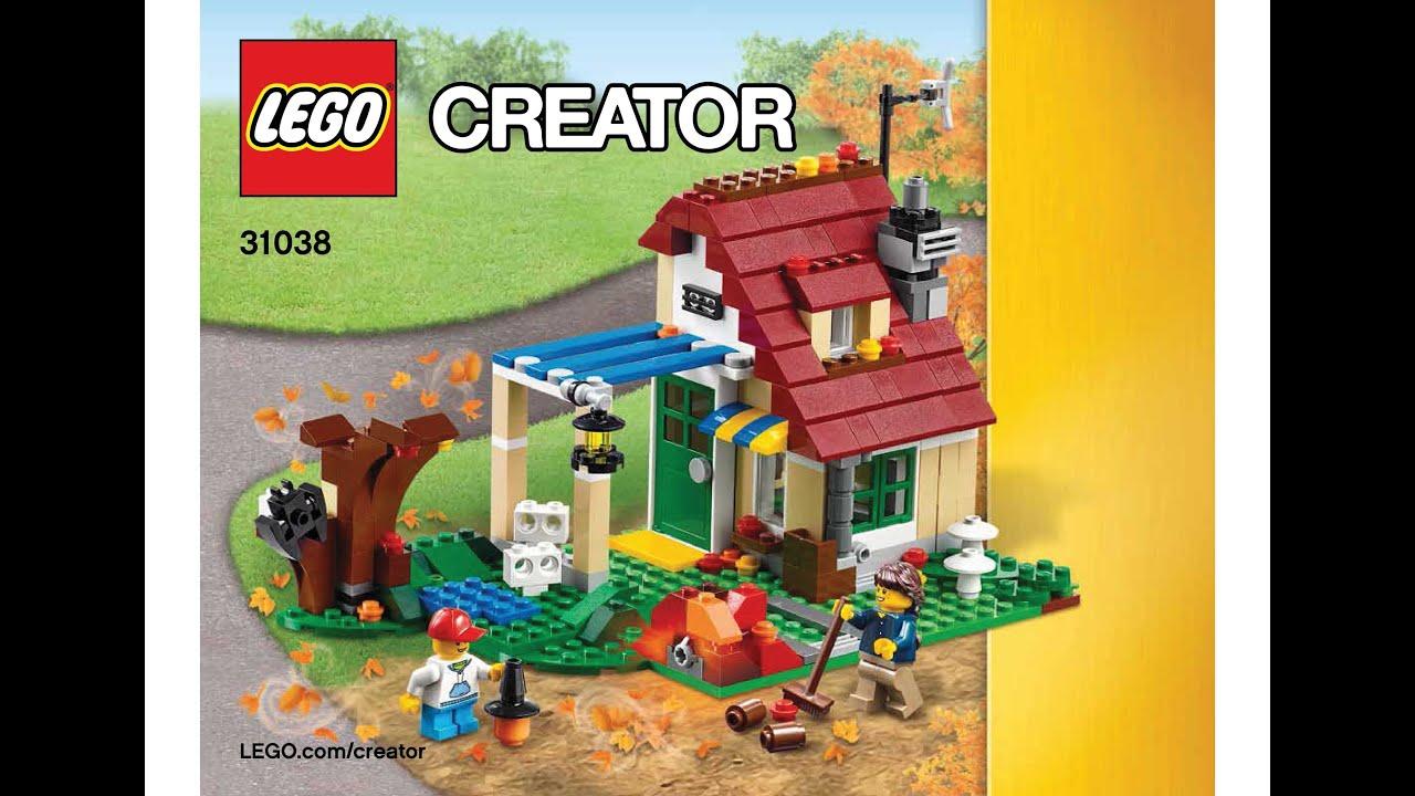 Lego 31038 Changing Seasons Autumn Cottage Instructions Lego Creator