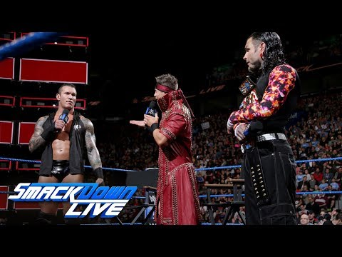 Randy Orton and Jeff Hardy show each other respect on