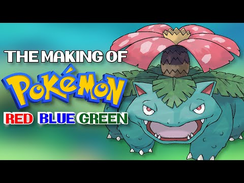 The Making Of Pokemon Red, Green And Blue