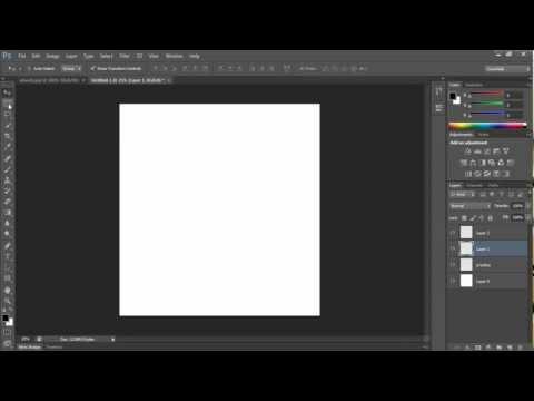 Photoshop CS6 Beginner Tutorial - Interface and Basics